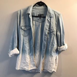 Kendall and Kylie ombré jean shirt